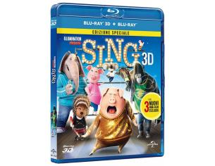SING 3D ANIMAZIONE - BLU-RAY