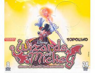WIZARDS OF MICKEY DISNEY BUSTE 24 PZ CARTE - DA GIOCO/COLLEZIONE