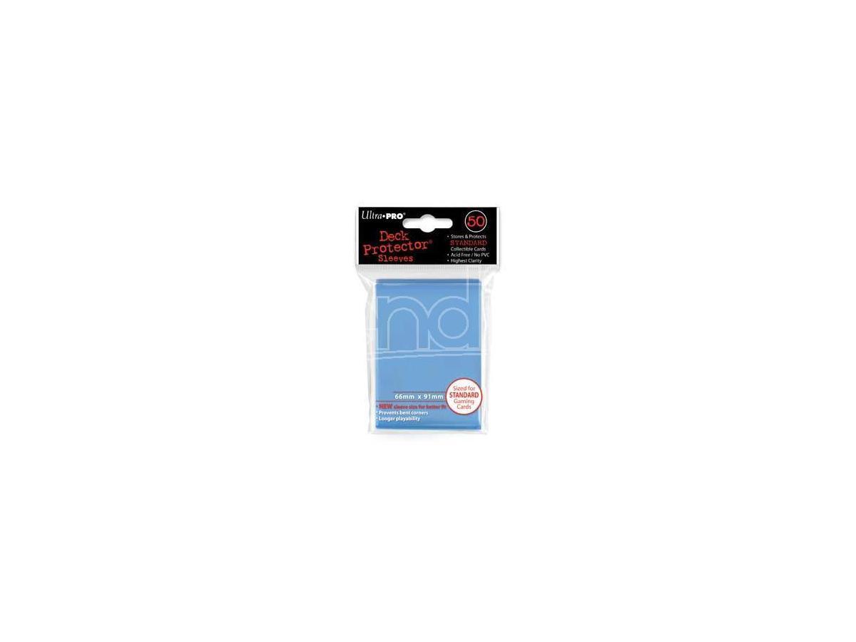 ULTRA PRO BUSTINE STD BLU CHIARO 50PZ CARD PROTECTOR - CARTE DA GIOCO/COLLEZIONE