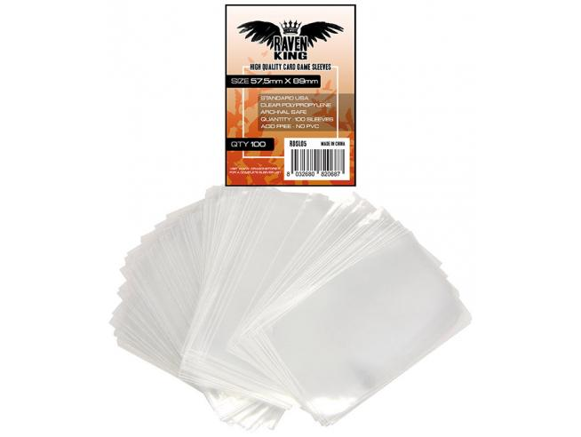 Raven King Bustoine Protettive 57,5x89mm Card Protector
