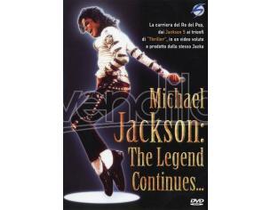 MICHAEL JACKSON-LA LEGGENDA CONTINUA DVD MUSICALE 8131098080789