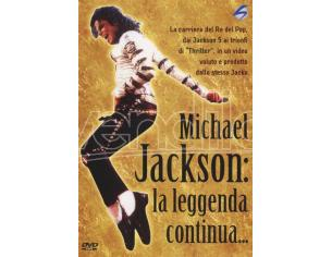 MICHAEL JACKSON-LA LEGGENDA CONTINUA DVD MUSICALE 8131098100203