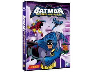 BATMAN: THE BRAVE AND BOLD VOL. 4 ANIMAZIONE - DVD
