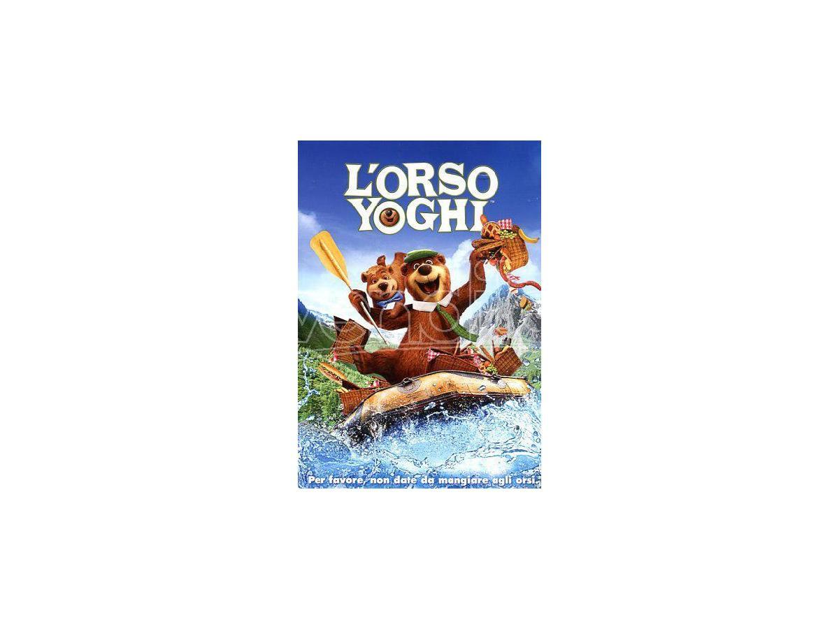 L'ORSO YOGHI ANIMAZIONE - DVD
