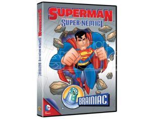 SUPERMAN SUPER NEMICI: BRAINIAC ANIMAZIONE - DVD