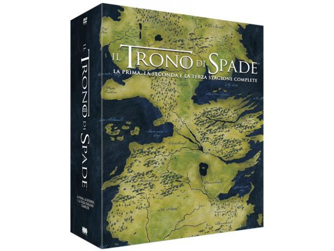 IL TRONO DI SPADE - STAGIONI 1-3 FANTASY DVD