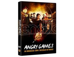 ANGRY GAMES-RAGAZZA CON UCCELLO DI FUOCO COMMEDIA - DVD