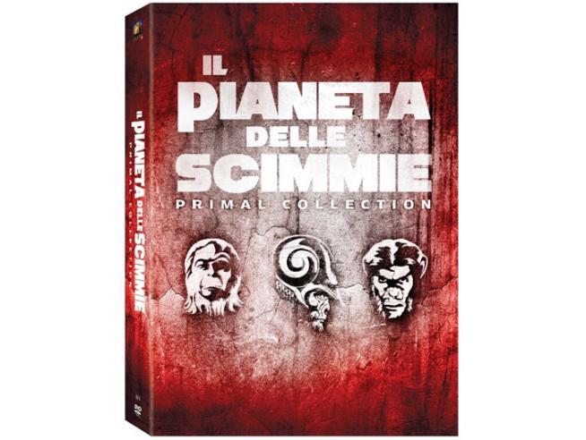 IL PIANETA DELLE SCIMMIE - SAGA COMPLETA AZIONE DVD
