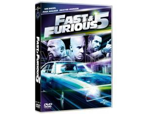 FAST & FURIOUS 5 AZIONE AVVENTURA - DVD