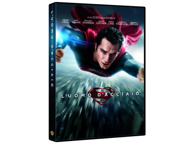 L' UOMO D'ACCIAIO AZIONE AVVENTURA - DVD