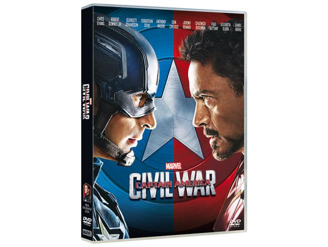 CAPTAIN AMERICA: CIVIL WAR AZIONE - DVD
