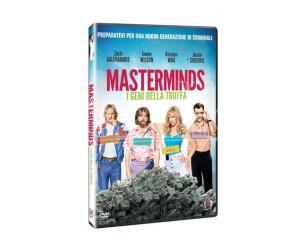 MASTERMINDS - I GENI DELLA TRUFFA COMMEDIA DVD