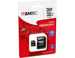 MICROSD + ADAPTER 32GB PRO (3D - 4K) MEMORY CARD/HARD DISK CONSOLE MEMORIE