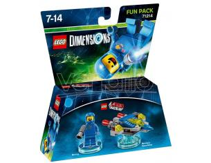 LEGO DIMENSIONS FUN PACK MOVIE BENNY - TOYS TO LIFE