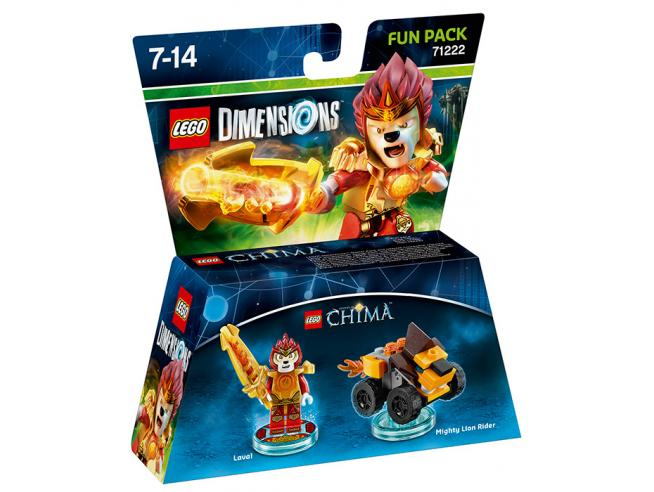 LEGO DIMENSIONS FUN PACK CHIMA LAVAL - TOYS TO LIFE