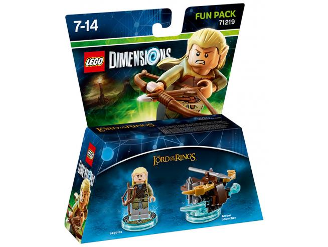 LEGO DIMENSIONS FUN PACK LOTR LEGOLAS - TOYS TO LIFE
