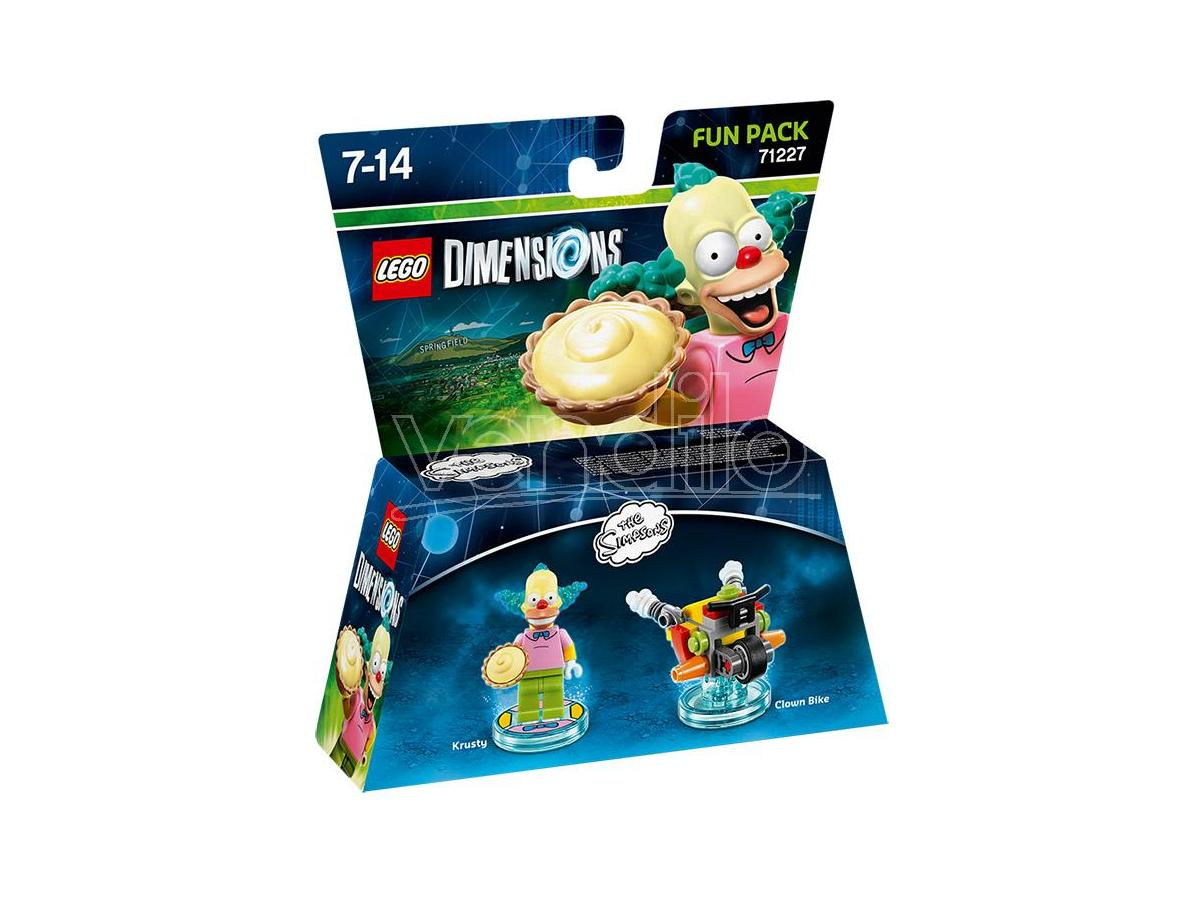 LEGO DIMENSIONS FUN PACK SIMPSONS KRUSTY - TOYS TO LIFE