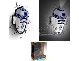 LAMPADA DA MURO 3D R2-D2 STAR WARS GADGET