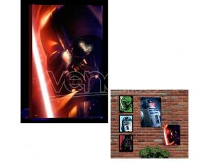 QUADRO LUMINOSO STAR WARS - DARTH VADER GADGET