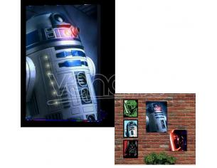 QUADRO LUMINOSO STAR WARS - R2-D2 GADGET