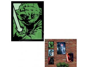 QUADRO LUMINOSO STAR WARS - YODA SMALL GADGET