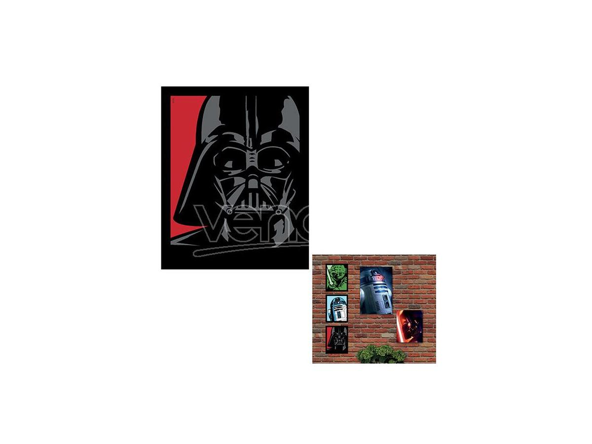 QUADRO LUMINOSO STAR WARS-DARTH VADER SM GADGET