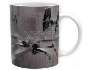 TAZZA X-WING VS TIE FIGHTER STAR WARS MUG - GADGET