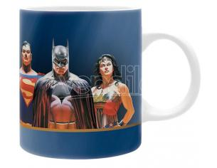 TAZZA DC COMICS - JUSTICE LEAGUE MUG GADGET