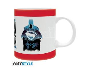 TAZZA DC COMICS - BATMAN VS SUPERMAN SIL MUG GADGET