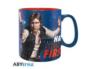 TAZZA STAR WARS - HAN SHOT FIRST MUG GADGET