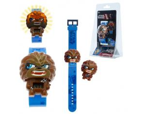 OROLOGIO LUMINOSO STAR WARS-CHEWBACCA GADGET