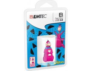 EMTEC USB KEY 8GB HANNA-BARBERA DINO 3D CHIAVETTE - MEMORIE