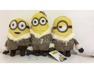 PELUCHE MINIONS MOVIE ESCHIMESE 18CM PELUCHES