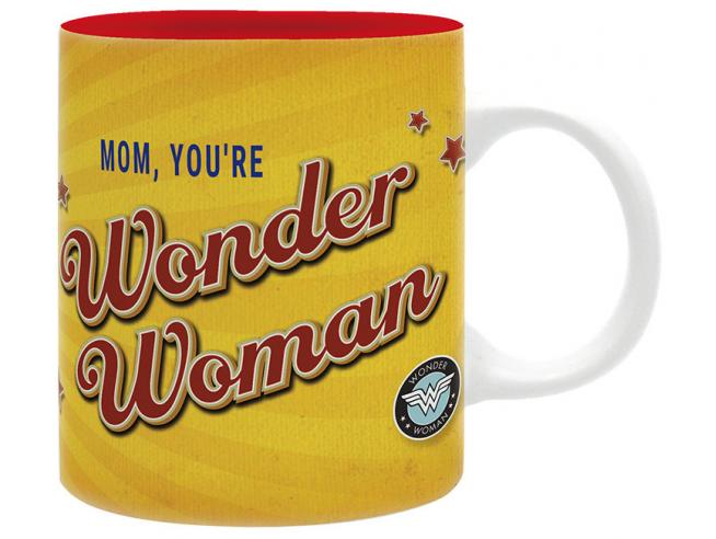 TAZZA DC COMICS - WONDER WOMAN MOM MUG GADGET