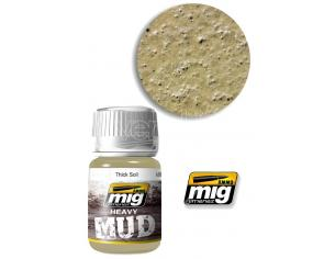 AMMO BY MIG JIMENEZ HEAVY MUD TEXTURE THICK SOIL 1701 COLORI
