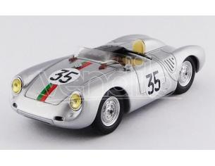 Best Model BT9662 PORSCHE 550 RS N.35 19th LM 1959 J.KERGUEN-R.LACAZE 1:43 Modellino