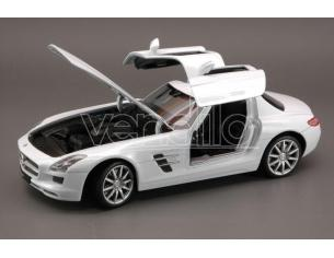 Welly WE4245 MERCEDES SLS AMG 2009 WHITE 1:24 Modellino