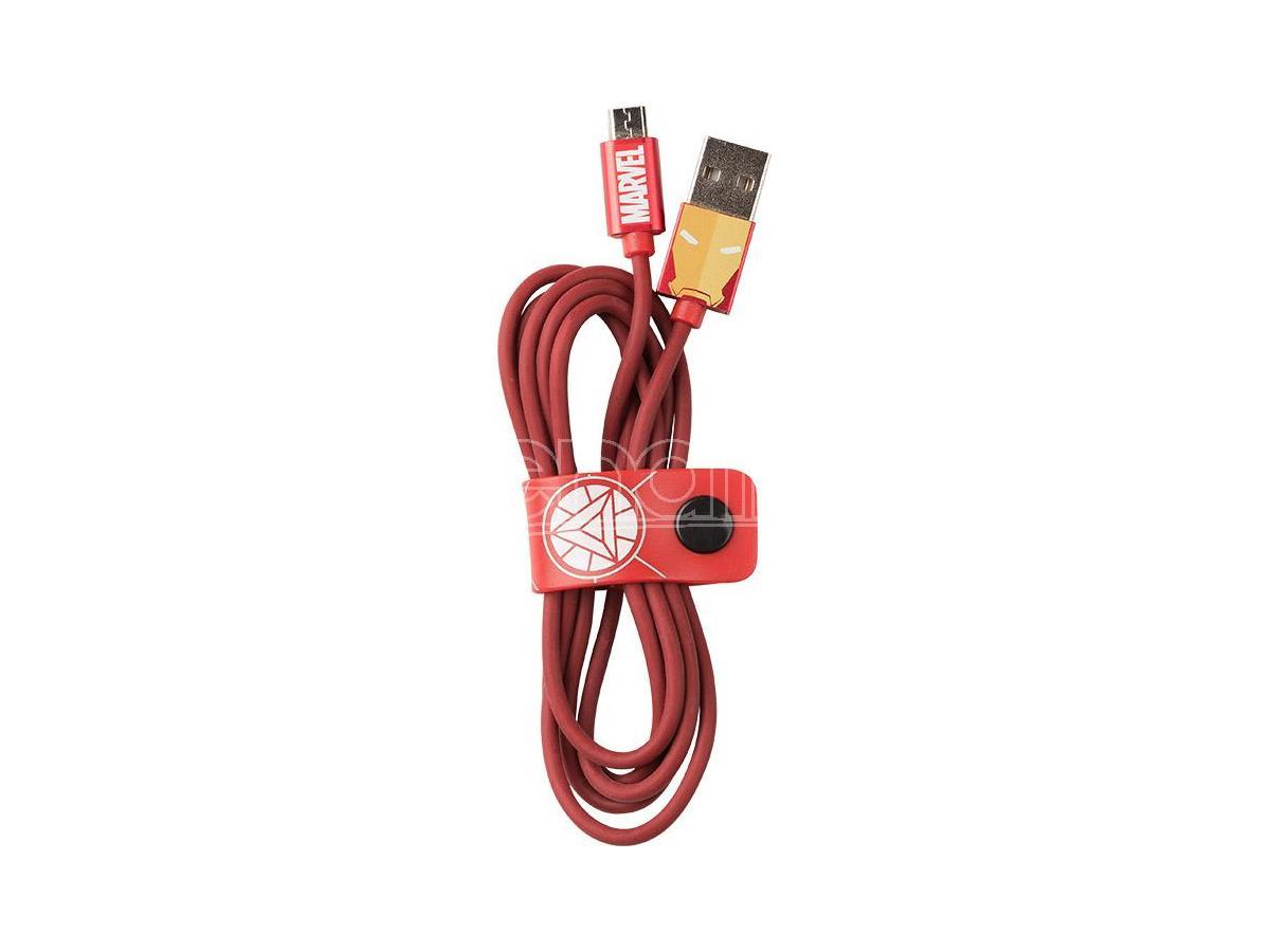 TRIBE CAVO MICRO USB 1,2M IRON MAN CAVETTERIA - MOBILE/TABLET