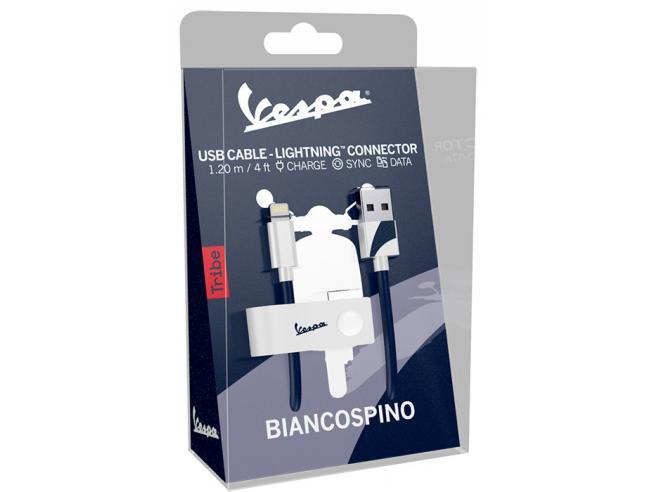 TRIBE CAVO LIGHTNING USB 1,2M BIANCOSP. CAVETTERIA - MOBILE/TABLET