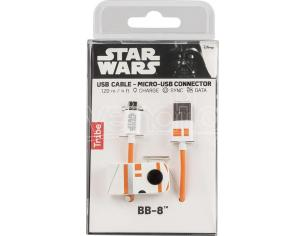 TRIBE CAVO MICRO USB 1,2M BB-8 CAVETTERIA - MOBILE/TABLET