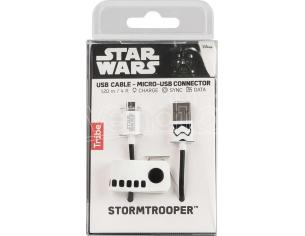 TRIBE CAVO MICRO USB 1,2M STORMTROOPER CAVETTERIA - MOBILE/TABLET