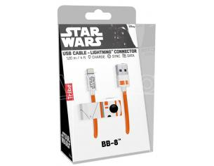TRIBE CAVO LIGHTNING USB 1,2M BB-8 CAVETTERIA - MOBILE/TABLET