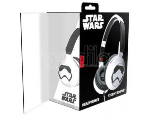 TRIBE CUFFIE CON MICROFONO STORMTROOPER - AUDIO/VIDEO