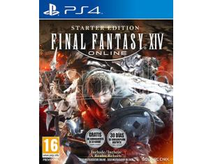 FINAL FANTASY XIV ONLINE STARTER ED. MMORPG - PLAYSTATION 4