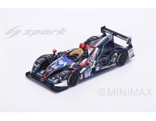 Spark Model S18280 MORGAN LMP2 NISSAN N.84 38th LM 2016 SAUSSET-TINSEAU-BOUVET 1:18 Modellino