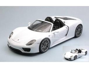 Welly WE18051CW PORSCHE 918 SPYDER WHITE 1:18 Modellino