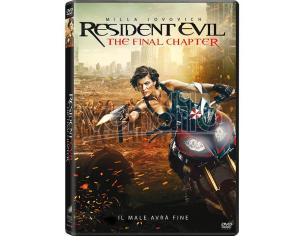 RESIDENT EVIL: THE FINAL CHAPTER AZIONE - DVD