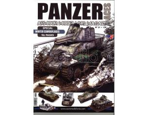 AMMO BY MIG JIMENEZ PANZER ACES MAG 51 WINTER CAMOUFLAGES RIVISTA