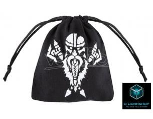 Q WORKSHOP DWARVEN BLACK DICE BAG ACCESSORI