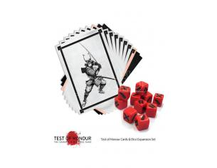 WARLORD GAMES TEST OF HONOUR DICE AND CARDS EXPANSION WARGAME